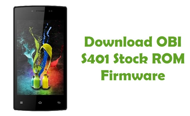 Download OBI S401 Stock ROM