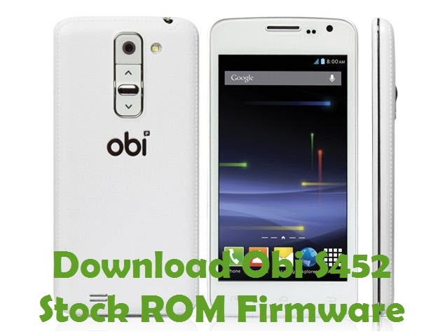 Download Obi S452 Stock ROM