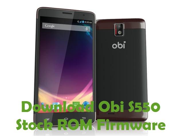 Download Obi S550 Stock ROM
