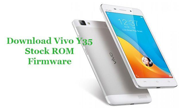 VIVO Y35 Firmware