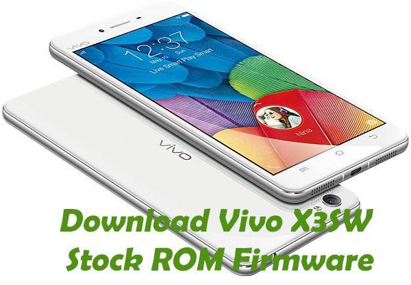 vivo-x3sw-Stock ROM
