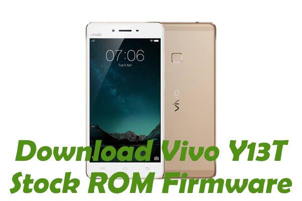 vivo-y13t-Stock ROM