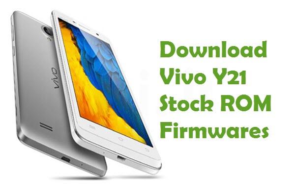 vivo y21 firmware