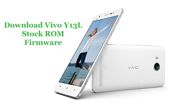 download vivo y13l firmware
