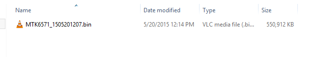 BIN Firmware File