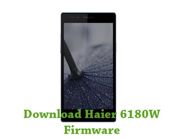 Download Haier 6180W Firmware