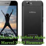Infinix Alpha Marvel X502 Firmware