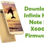 Infinix Hot Note 2 X600 Firmware