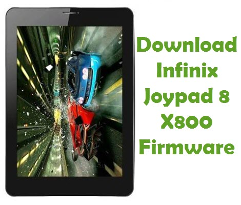 Download Infinix Joypad 8 X800 Stock ROM