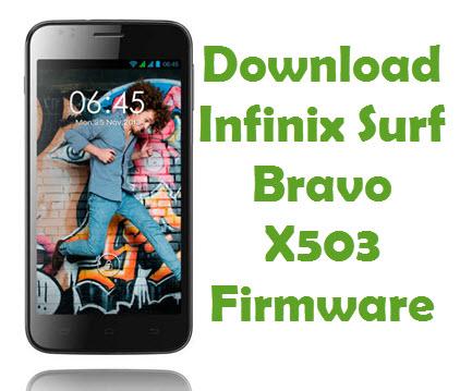 Download Infinix Surf Bravo X503 Firmware