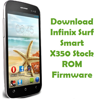 Download Infinix Surf Smart X350 Firmware