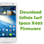 Infinix Surf Space X403 Firmware