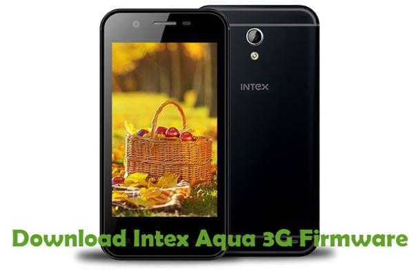 Download Intex Aqua 3G Firmware