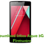 Intex Aqua 3G N Firmware