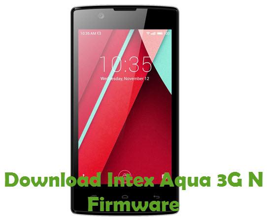 Download Intex Aqua 3G N Firmware