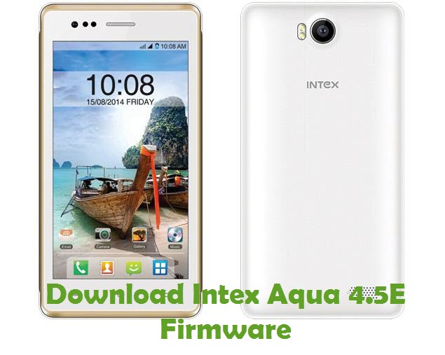 Download Intex Aqua 4.5E Firmware