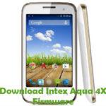 Intex Aqua 4X Firmware
