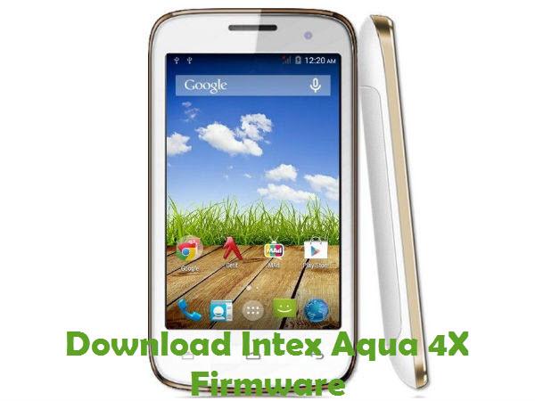 Download Intex Aqua 4X Firmware