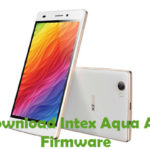 Intex Aqua Ace Mini Firmware