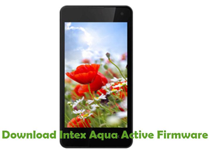 Download Intex Aqua Active Firmware
