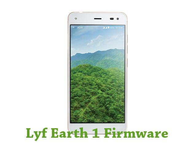 Download Lyf Earth 1 Firmware