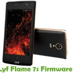 Lyf Flame 7S Firmware