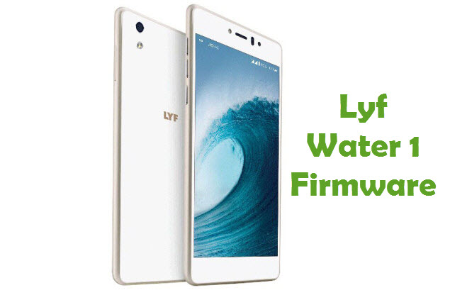 Download Lyf Water 1 Firmware