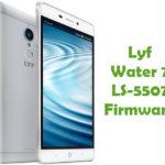 Lyf Water 7 LS-5507 Firmware