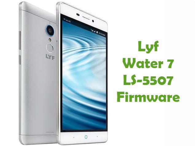 Download Lyf Water 7 LS-5507 Stock ROM