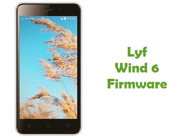 Download Lyf Wind 6 firmware