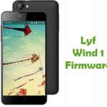 Lyf Wind 1 Firmware