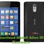 Mycell Alien SX5 Firmware