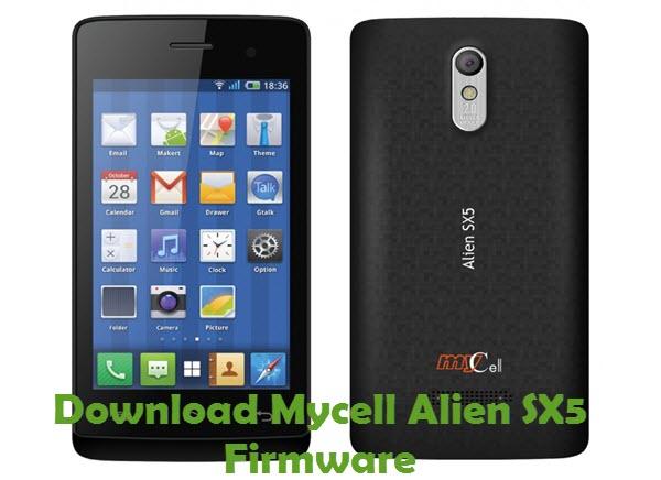 Download Mycell Alien SX5 Firmware