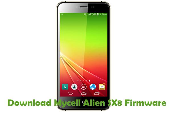 Download Mycell Alien SX8 Firmware