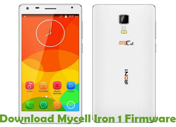 Download Mycell Iron 1 Firmware