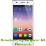 Mycell Spider A3 Firmware
