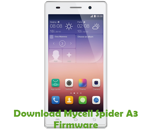 Download Mycell Spider A3 Firmware