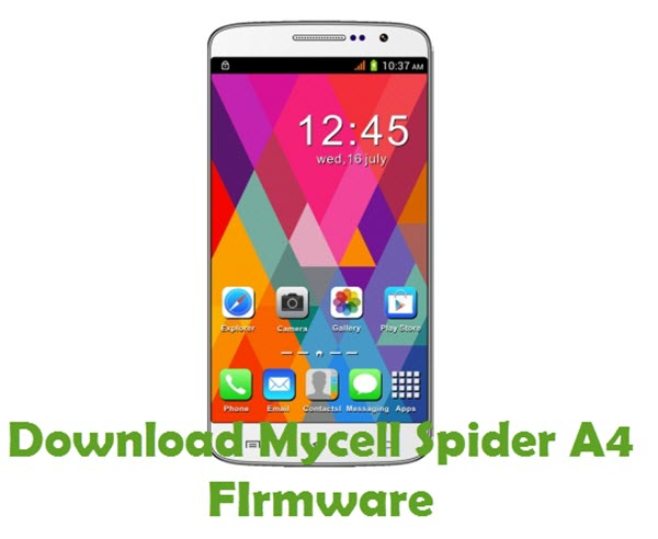Download Mycell Spider A4 Firmware