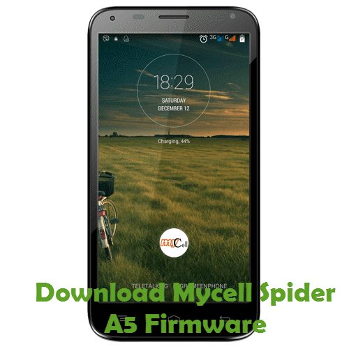 Download Mycell Spider A5 Firmware