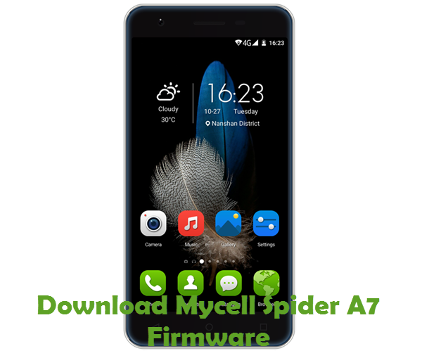 Download Mycell Spider A7 Firmware