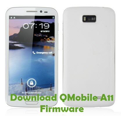 Download QMobile A11 Firmware