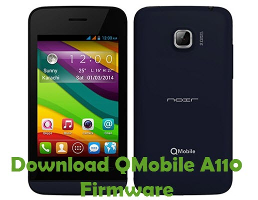Download QMobile A110 Firmware
