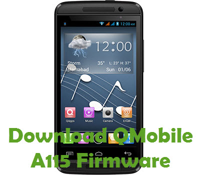 Download QMobile A115 Firmware