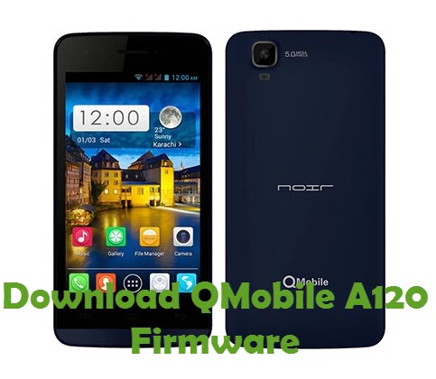 Download QMobile A120 Firmware