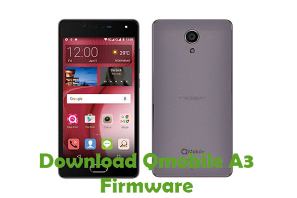 Download QMobile A3 Firmware