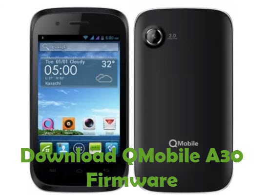 Download QMobile A30 Firmware
