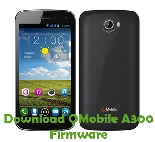 Download QMobile A300 Firmware