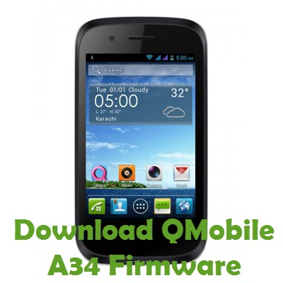 Download QMobile A34 Firmware