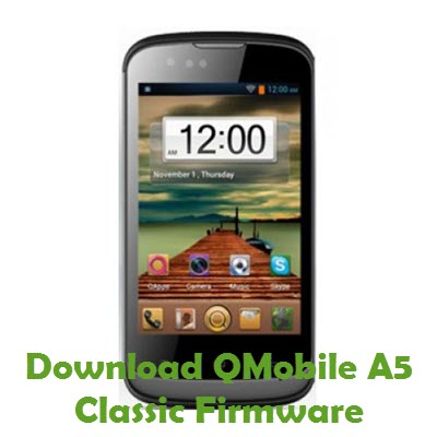 Download QMobile A5 Classic Firmware