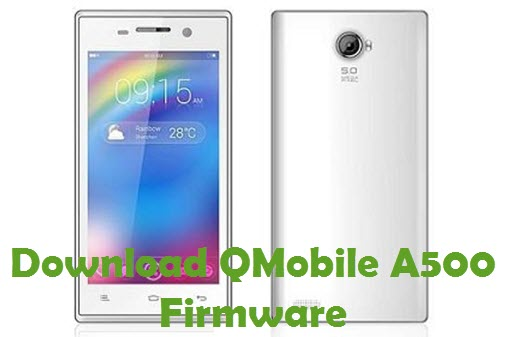 Download QMobile A500 Firmware